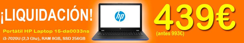 Oferta Portátil i3 HP
